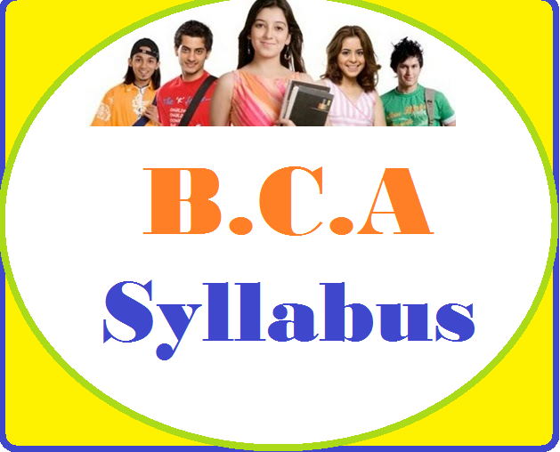 bca syllabus-bca course details, bca subject, syllabus of bca
