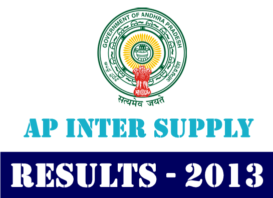 AP Intermediate 2nd Year Advance Supplementary 2013  Results at www.manabadi.co.in
