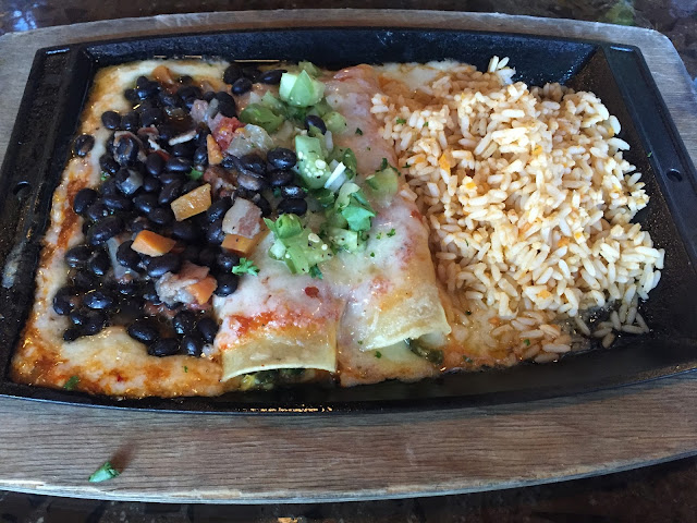 Huevos Ranchero Enchilada at Urban Grub