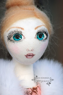 текстильная кукла, игрушка, кукла, авторская кукла