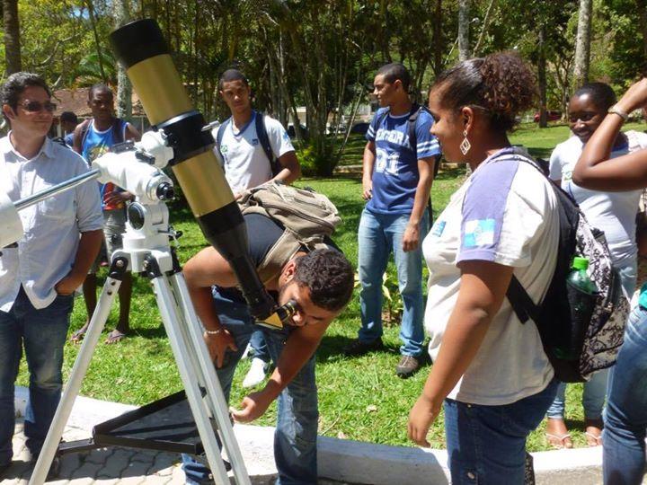 Astronomia na praça