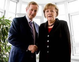Enda Kenny & Angela Merkel