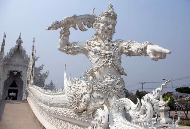 Wat Rong Khun - Chiang Rai, Thailand | Tailândia