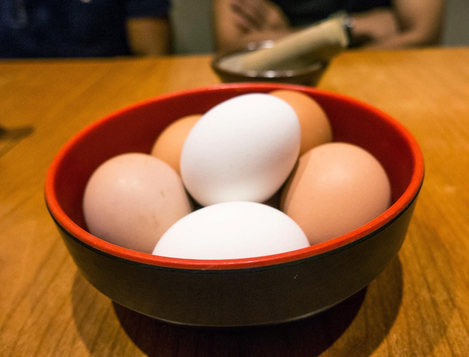 free eggs served by keisuke