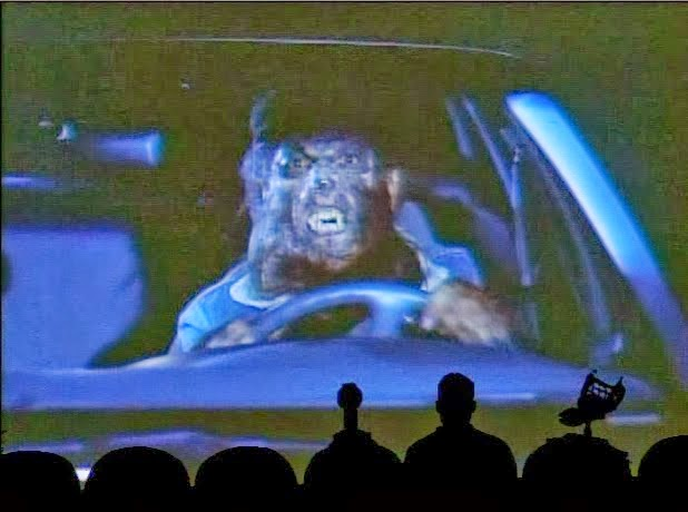MST3K Werewolf Driving Car