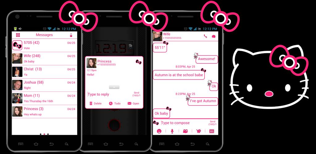 Aplikasi Go SMS Pro