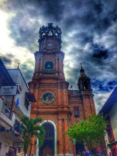 HDR Photo - Parroquia de Nuestra Señora de Guadalupe, Puerto Vallarta Jalisco Mexico