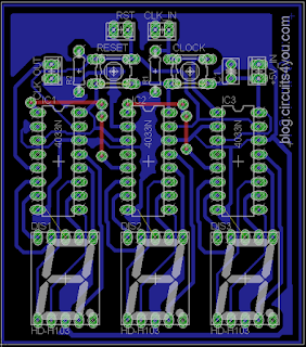 Object Counter PCB Layout