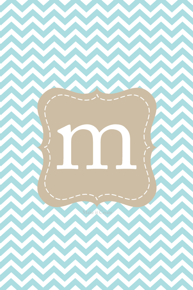 gallery for chevron background with monogram m