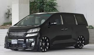 modifikasi Toyota Alphard elegan