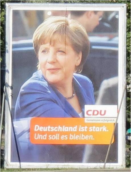 Angela Merkel, CDU, The boss of Germany