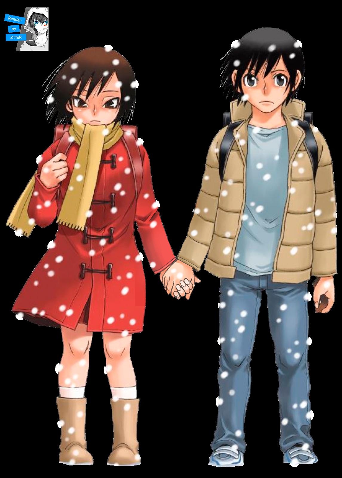 Render Hinazuki Kano & Fujinuma Satoru