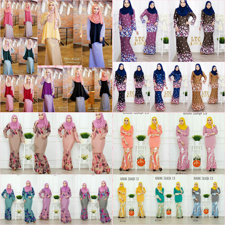 Ready To Post. Ayu dan menawan Sangat Kurung Roshana. Hurry Up Stock sangat LIMITED