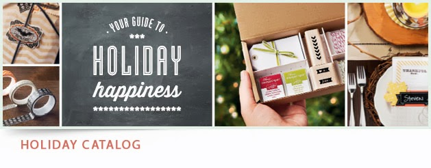 The Stampin Up! Holiday Catalog is here!