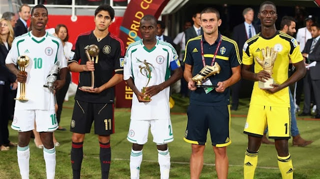 FIFA invites Nigerian U-17 stars, Iheanacho and Alampasu To Ballon d'Or In Zurich