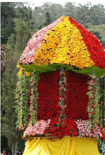 Ooty 2012 Flower Show Stills