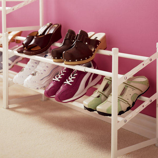 chasing beauty how to organize shoes. Black Bedroom Furniture Sets. Home Design Ideas