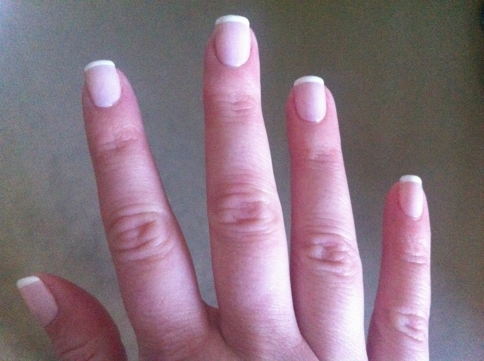 How to remove french manicure shellac