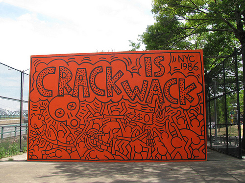 Dan sabau crack is wack for Crack is wack mural
