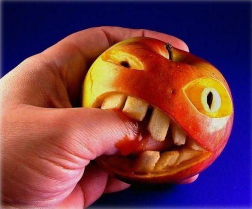 Criatividade com maçã