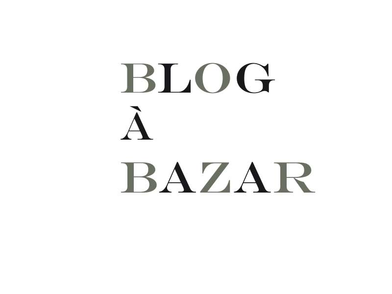  BLOG  BAZAR