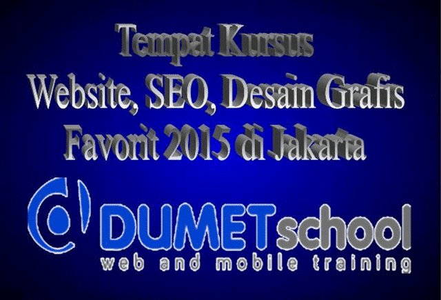 Tempat Kursus Website, SEO, Desain Grafis Favorit 2015 di Jakarta