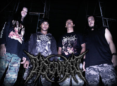 Discrimed Band Brutal Death Metal Surabaya foto personil logo wallpaper