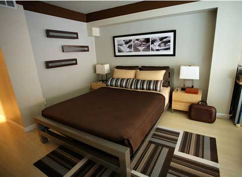design of small bedroom