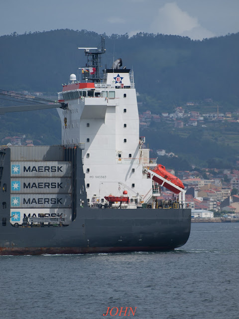 em spetses, container ship, vigo