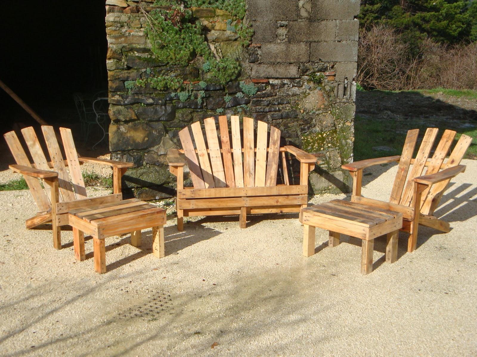 l 39 atelier fauteuils adirondack. Black Bedroom Furniture Sets. Home Design Ideas