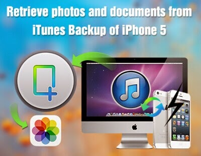 how to find documents in iphone backup