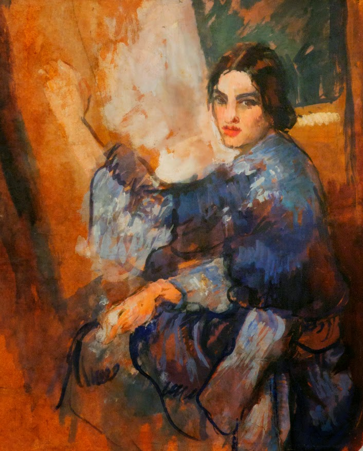"Painting by Amrita Sher-Gil: The Passionate Quest"" curated by Yashodhara Dalmia at NGMA, Bangalore"