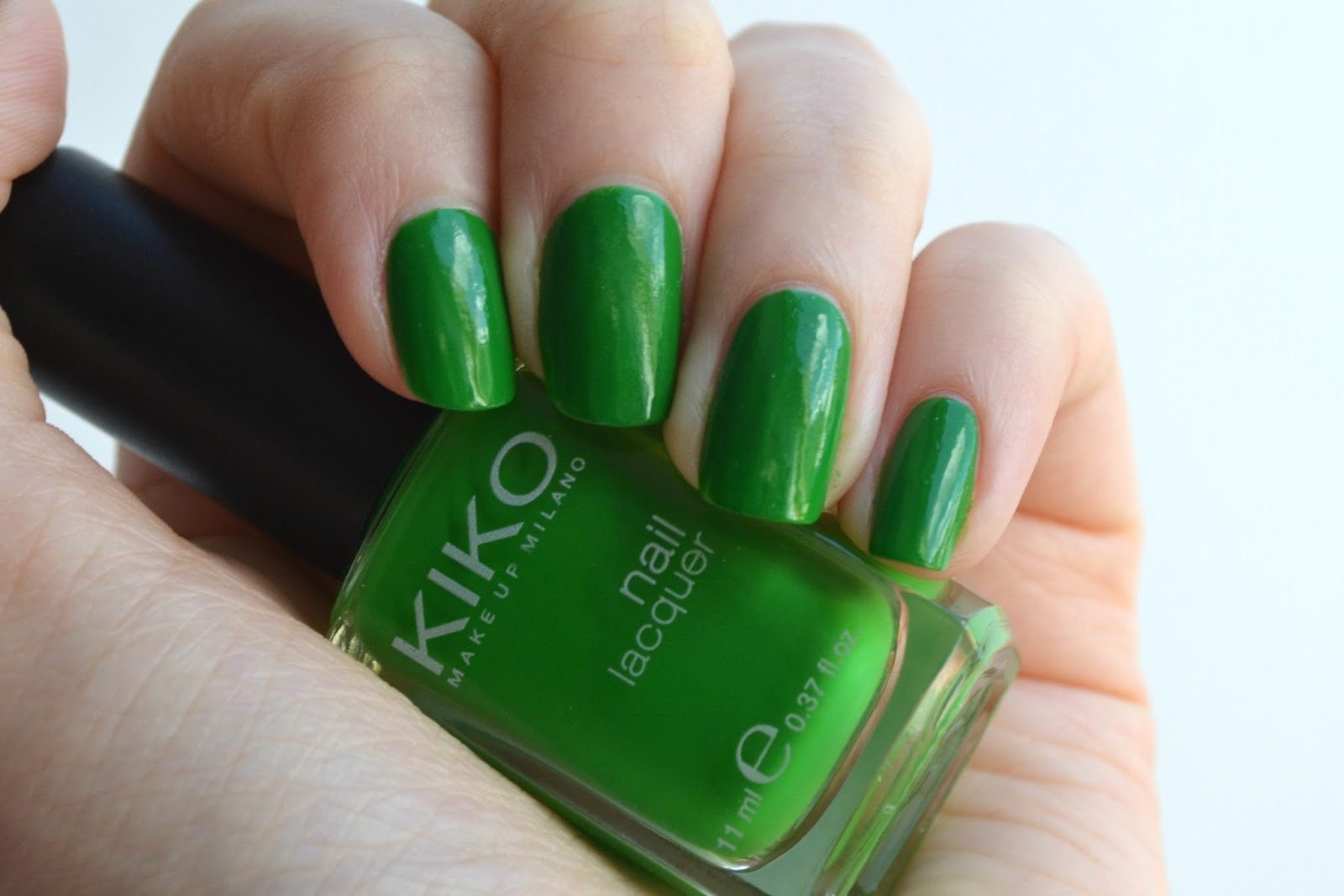 Imogen\'s Typewriter.: Beauty Review: KIKO Nail Lacquer in Grass Green!