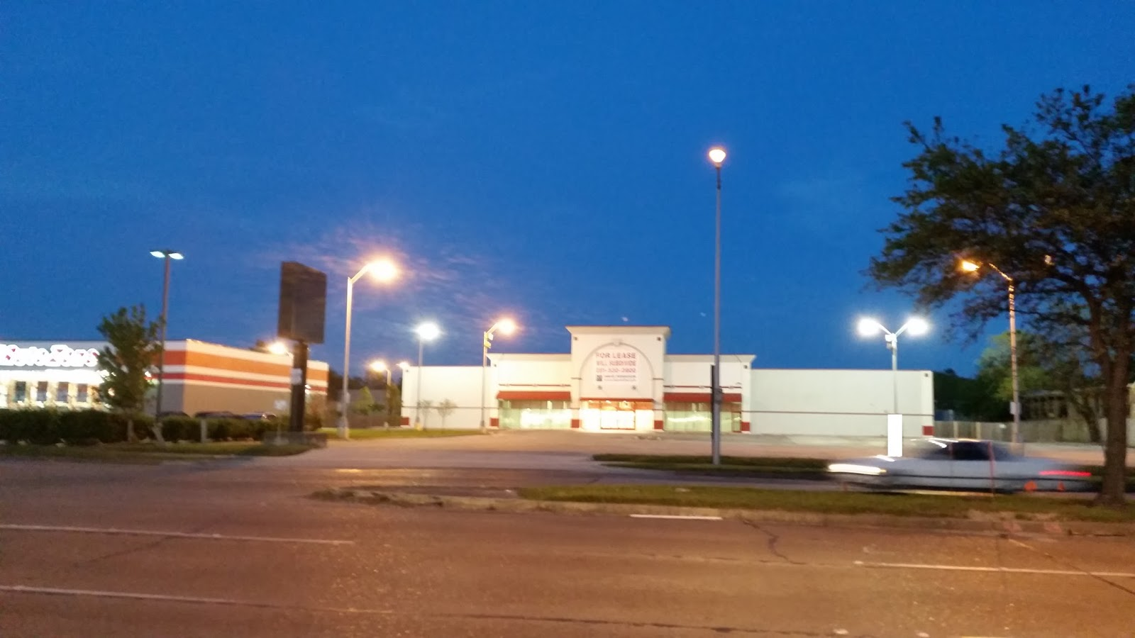 ALCO Houston Gessner Rd Abandoned 2014 Previously A 99 Cent Only Store