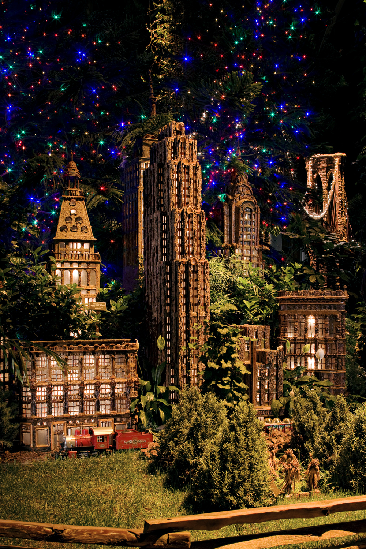Clique nova york dica de natal em new york holiday train show botanical garden for Ny botanical gardens train show