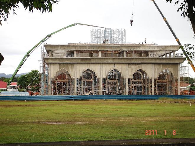 Masjid Baru dalam pembinaan