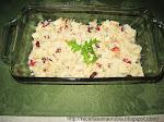 Salada e Lanche de Frango com Aipo