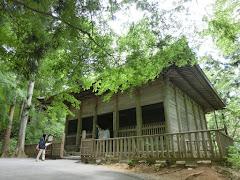 中尊寺・金色堂旧覆堂