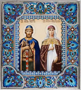 Sfintii Petru si Fevronia praznuiti de Biserica Ortodoxa pe 25 iunie !