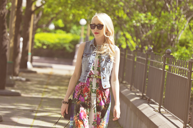london times tropical high-low dress savvy summer