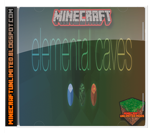 Elemental Caves Mod Minecraft