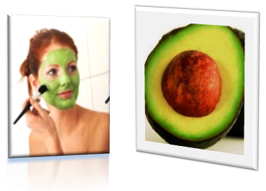 gambar foto melembabkan kulit wajah dengan masker