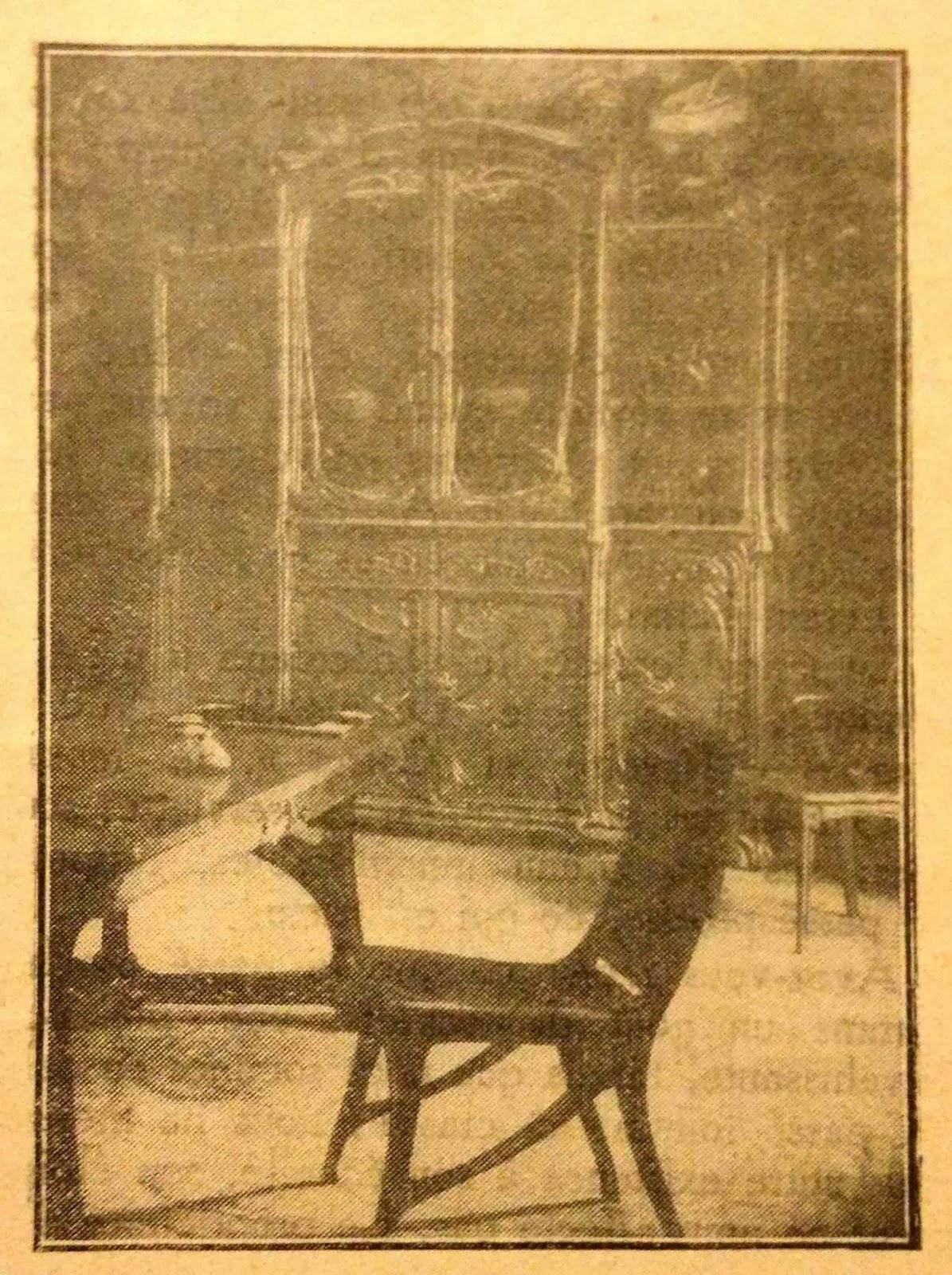 Le blog des amis de la villa cavrois o femme qui donc es for Meubles 1900