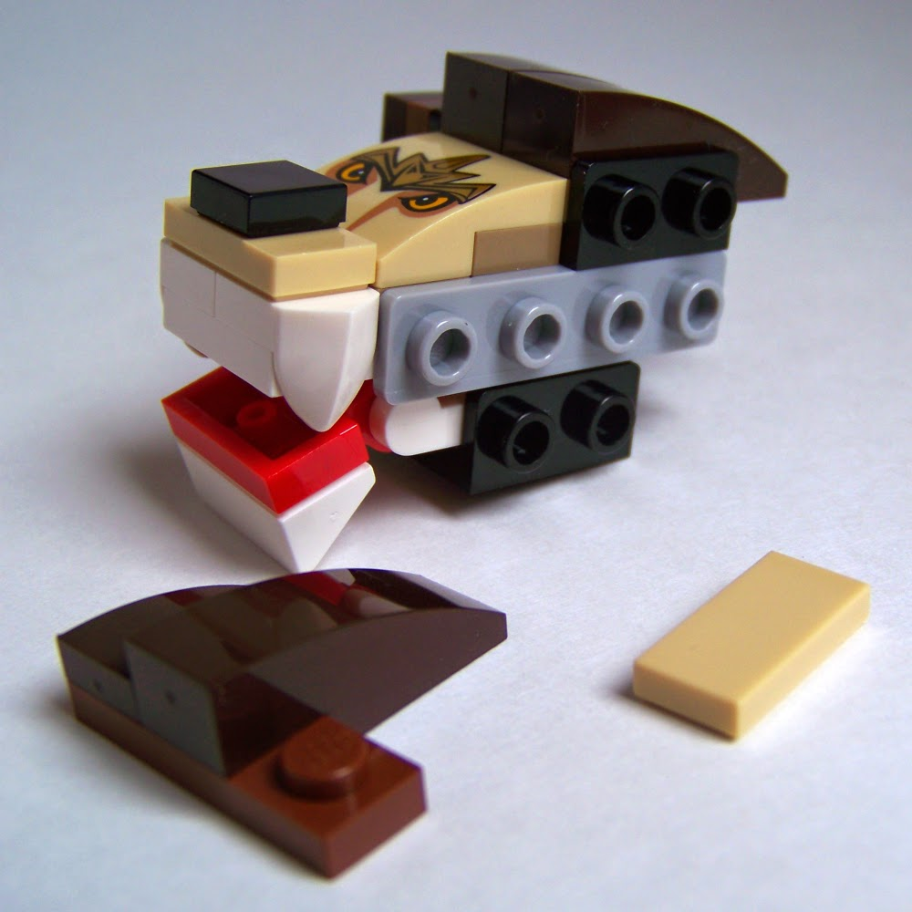 LEGO Lion 70123 Legend Beast
