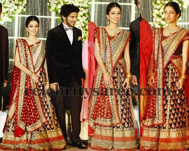 celebrity sabyasachi lehenga saree   saree blouse patterns