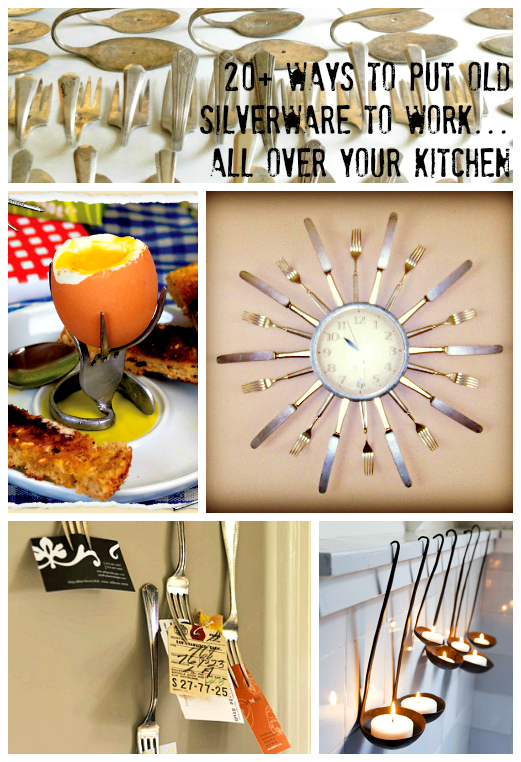 Upcycle: Silverware becomes Silver-everywhere! | the ReFab Diaries on travel kitchen ideas, plants kitchen ideas, glass kitchen ideas, recycled kitchen ideas, country blue kitchen ideas, garden kitchen ideas, patriotic kitchen ideas, furniture kitchen ideas, rustic kitchen ideas, whimsical kitchen ideas, lowe's kitchen ideas, 2015 kitchen ideas, fall kitchen ideas, vintage small kitchen ideas, photography kitchen ideas, thanksgiving kitchen ideas, silver kitchen ideas, cake kitchen ideas, do it yourself kitchen ideas, craft kitchen ideas,