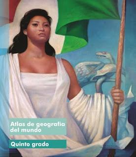 Libro de Texto Atlas de geografía del mundo Quinto Grado Ciclo Escolar 2015-2016