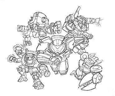 #7 Pacific Rim Coloring Page