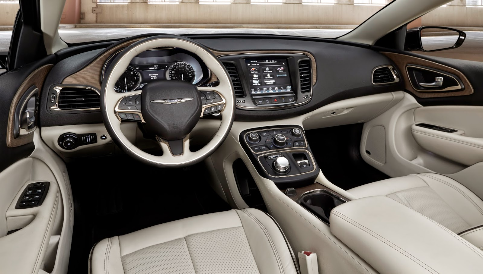 Interior view of 2015 Chrysler 200C