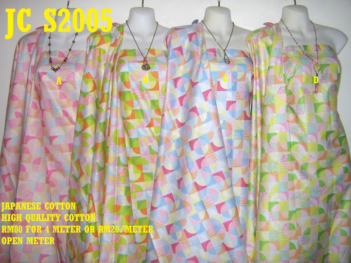 JC 2005: JAPANESE COTTON, 4 METER